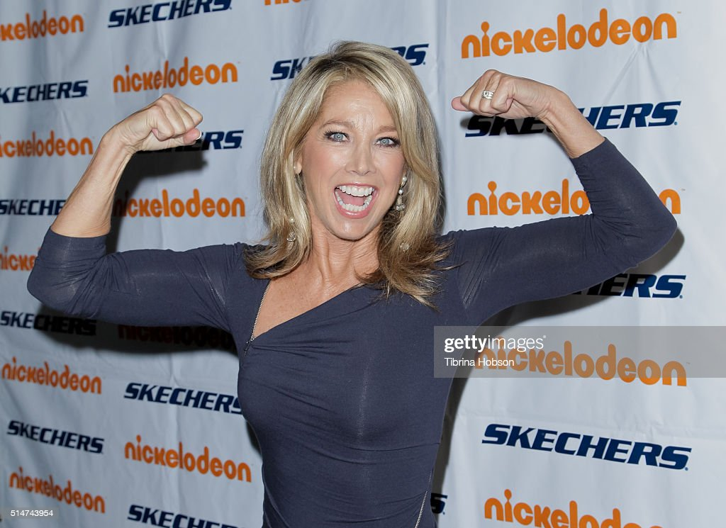 Fitness instructor <a gi-track='captionPersonalityLinkClicked' href=/galleries/search?phrase=Denise+Austin&family=editorial&specificpeople=956724 ng-click='$event.stopPropagation()'>Denise Austin</a> attends the 7th annual SKECHERS Pier To Pier Walk Check Presentation at Shade Hotel on March 10, 2016 in Manhattan Beach, California.