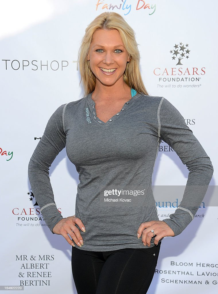 Fitness instructor Jodi Tiahrt attends The T.J. Martell Foundation 4th Annual Family Day LA on October 28, 2012 in Los Angeles, California.