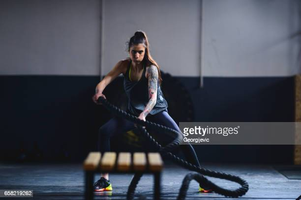 Fitness on the ropes