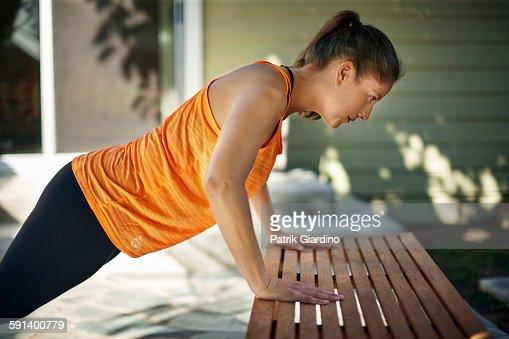Fitness Plus Size : Stock Photo