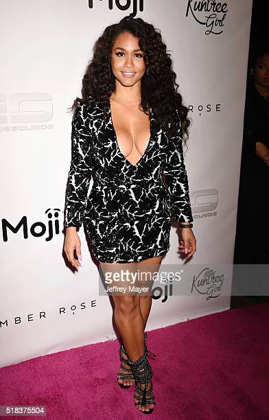 Fitness trainer Rosa Acosta hosts a Takeover event at Dave Busters on March 30 2016 in Hollywood California