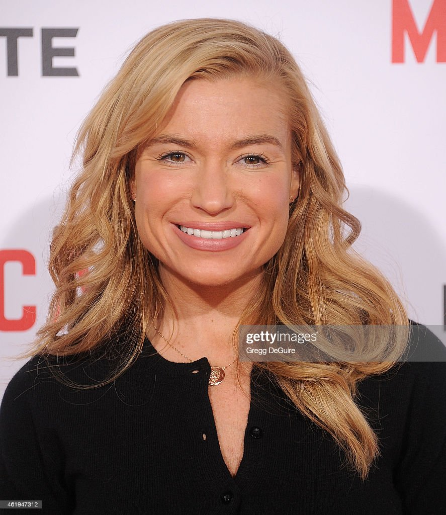 Fitness trainer Tracy Anderson arrives at the Los Angeles premiere of 'Mortdecai' at TCL Chinese Theatre on January 21 2015 in Hollywood California