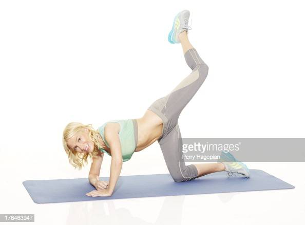 Fitness trainer Tracy Anderson is photographed for Cosmopolitan Magazine on November 28 2012 in New York City PUBLISHED IMAGE