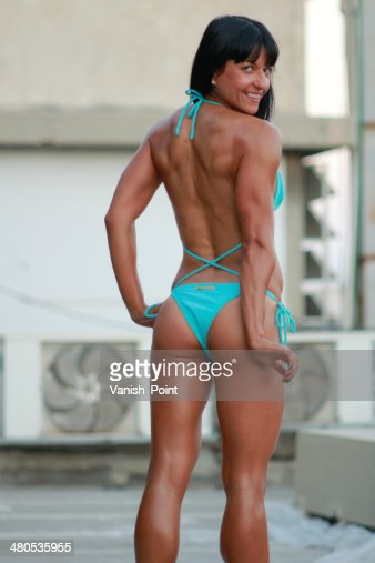 Fitness donna : Foto stock