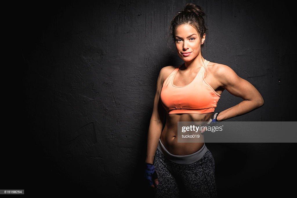 Fitness woman : Stock Photo