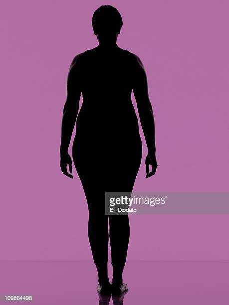 FItness work out on clean Purple Background