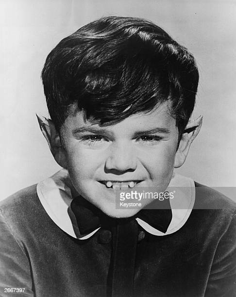 Fitted with pointed ears and a toothy smile eleven year old Butch Patrick is to play Eddy the youngest member of the Munsters a TV series to be...