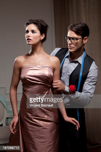 Fitting a designer clothing