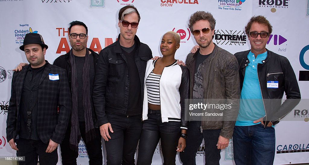 Fitz and the Tantrums attend the Cinco De Mangria party benefiting Children's Hospital Los Angeles on May 5, 2013 in Malibu, California.