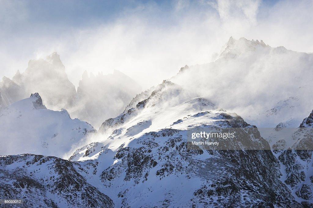 Fitz Roy Mountain massif.