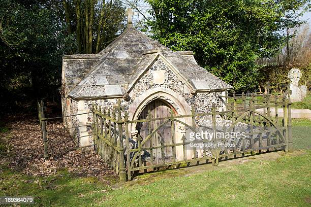 Fitzgerald family crypt Church of Saint Michael Boulge Suffolk