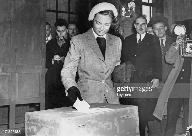 Five and a half million Belgians go to the polls to decide as to whether King Leopold III of Belgium should return from exile to Belgium In this...