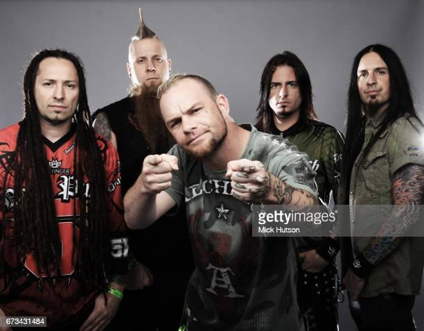 Five Finger Death Punch Download Festival Donington United Kingdom 12th June 2010 Line up includes Zoltan Bathory Ivan Moody Jason Hook