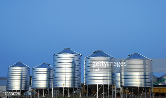 Five Grain Bins