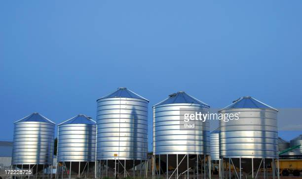 Five Grain Bins