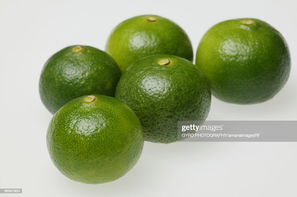 Five Limes : Stock Photo
