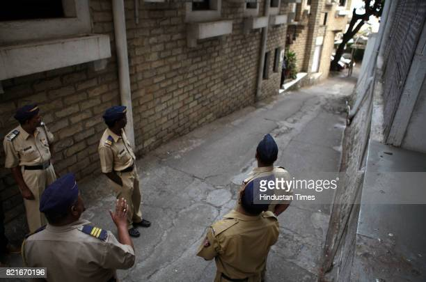 Five men vandalised the office of the Censor Board of Film Certification on Monday evening The Malabar Hill police arrested one of the accused on the...