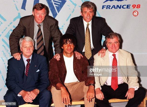 Five of ITV's World Cup broadcasting team were unveiled in London today Manchester United manager Alex Ferguson and former Newcastle manager Kevin...