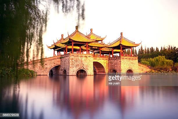 Five Pavilions Bridge on Slender West Lake