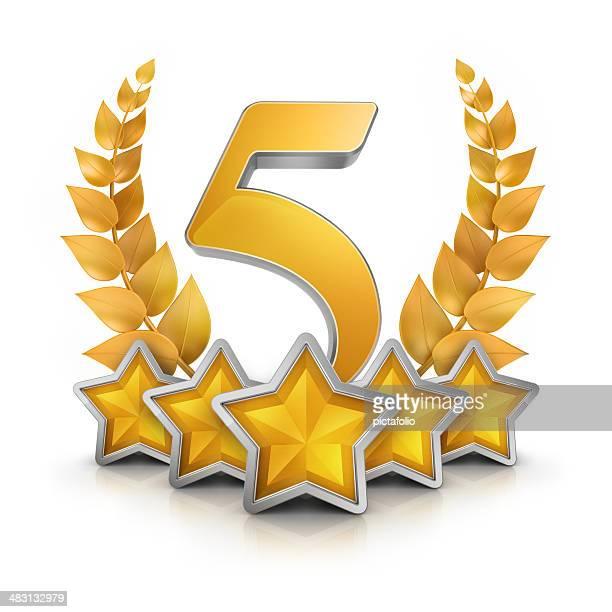 badge Premio cinque stelle