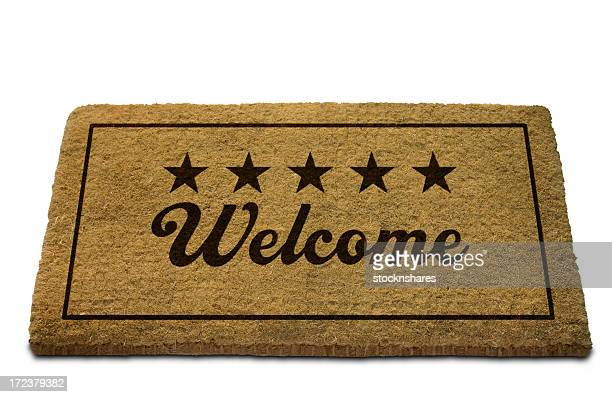 Five Star Welcome Doormat