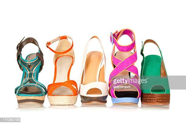 Fünf Sommers und Frühlings-women's high heels