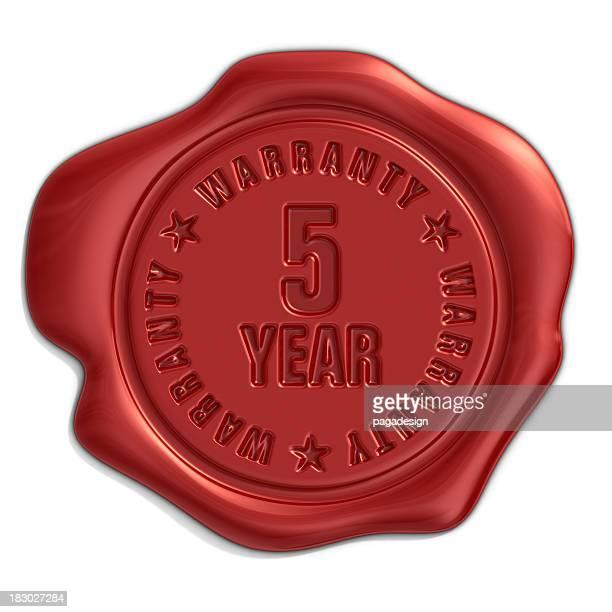 Cinque anni di garanzia seal