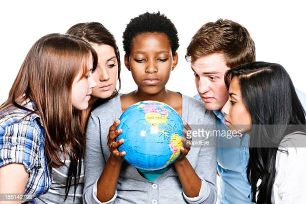 Five young people concerned by state of the world