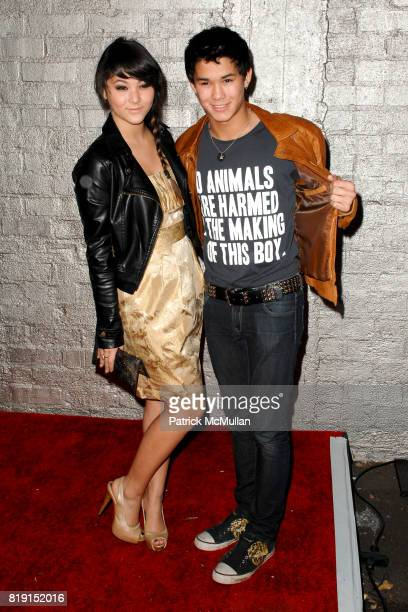 Fivel Stewart and Booboo Stewart attend STAR MAGAZINE CELEBRATES YOUNG HOLLYWOOD at Voyeur on March 31 2010 in West Hollywood California