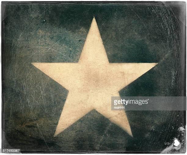 Acht Spitzen Sterne -