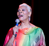 Fivetime Grammy Award winner Dionne Warrick performs on stage at Route 66 Casinos Legends Theater on February 15 2014 in Albuquerque New Mexico