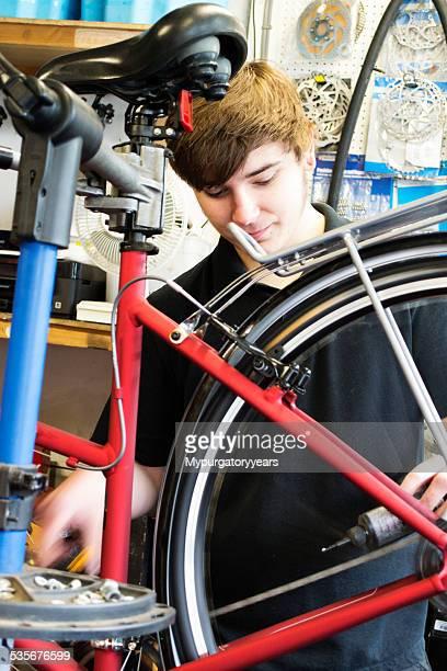 Risoluzione una bicicletta