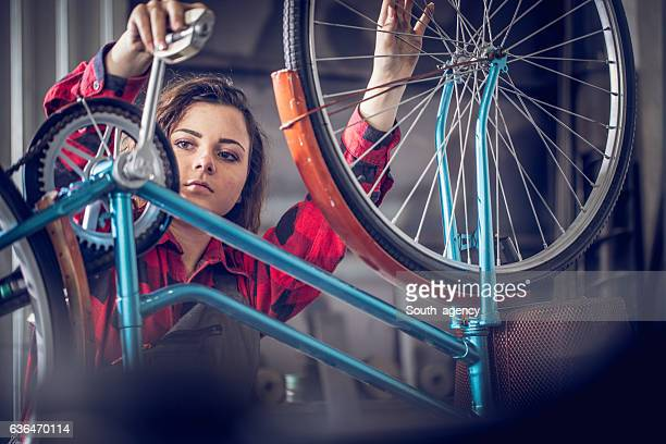 Beseitigung ein Fahrrad