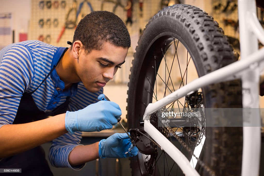 fixing a chain cog