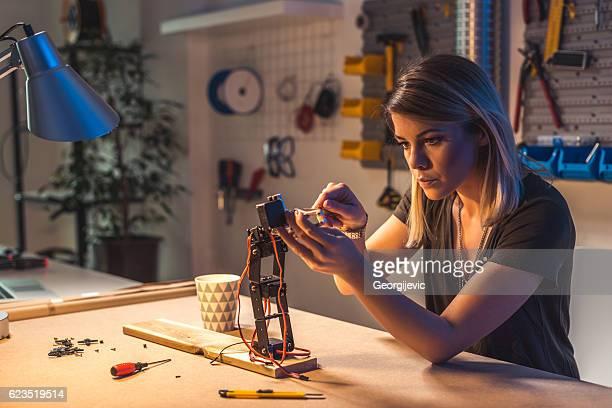 Fixing a robot arm
