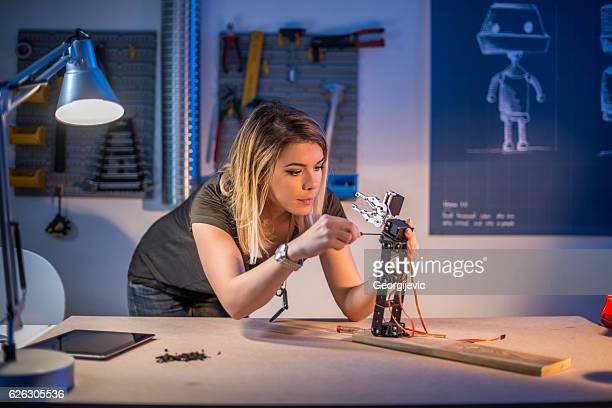 Fixing a robotics arm
