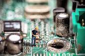 Fixing computers