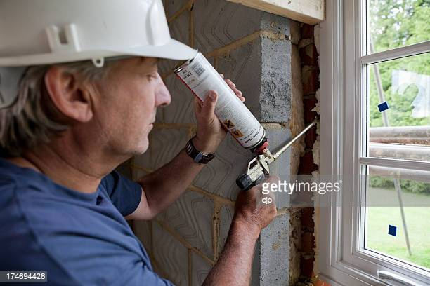 Fixing Double Glazing with Expanding Foam