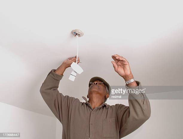 fixing the light