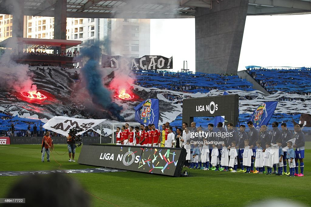 Fixture during the match between FC Porto and SL Benfica for the Portuguese Primeira Liga at Estadio do Dragao on September 20, 2015 in Porto, Portugal.