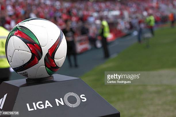 Fixture during the match between SL Benfica and Boavista FC at Estadio da Luz on November 8 2015 in Lisbon Portugal
