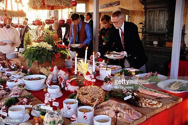 Fjaderholmarnas Christmas Smorgasbord