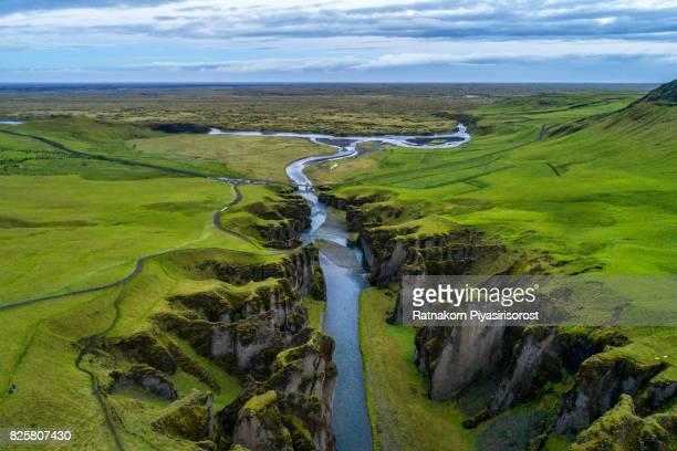 Fjardargljufur canyon, Iceland