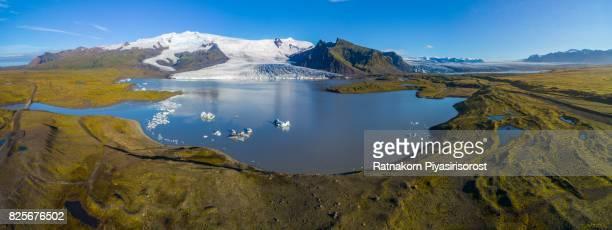 Fjarsarlon glacier lagoon