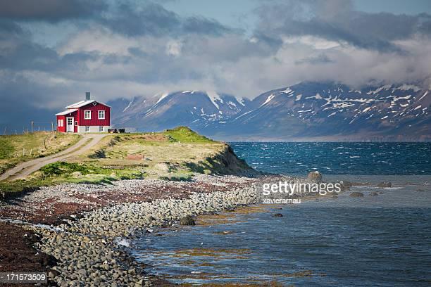 Fjords en Islande septentrionale