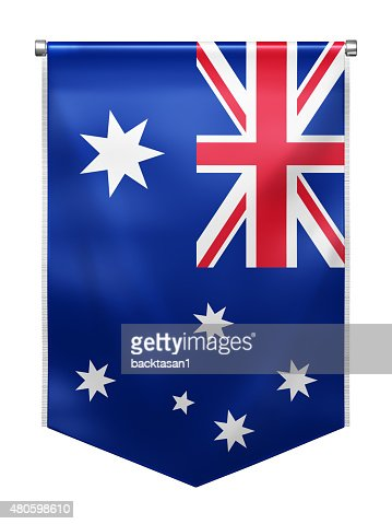 Flag of Australia : Stock Photo