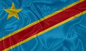 Flag of Democratic Republic of the Congo, Kinshasa