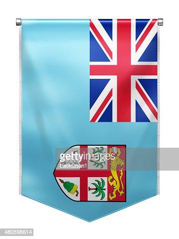 Flag of Fiji : Stock Photo