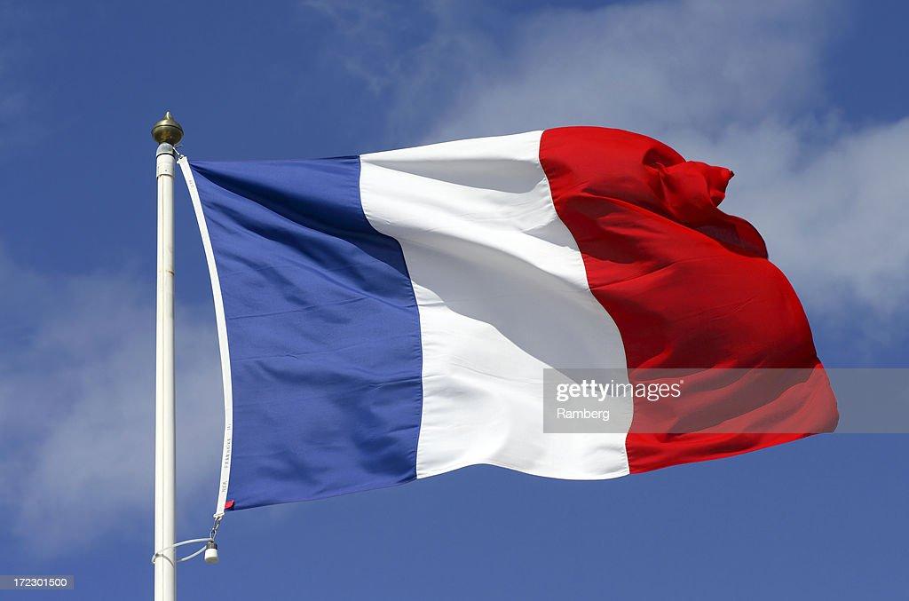 Flag of France : Stock Photo