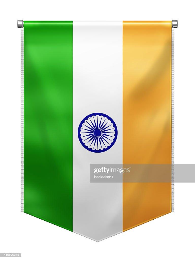 Flag of India : Stock Photo